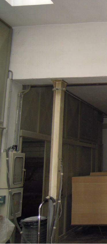 colonna acciaio esistente - CERT.REI