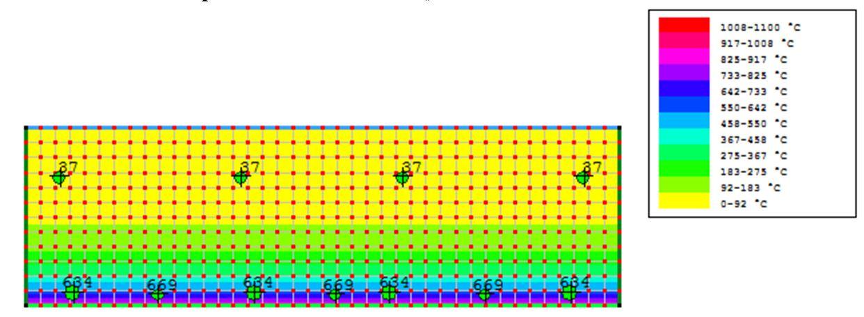 mappatura termica trave 90 minuti - R90